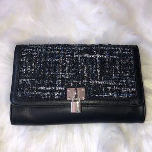 Handbags - NWOT Tweed leather Shoulder bag & Clutch